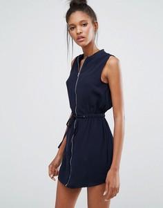 Платье на молнии Influence - Черный