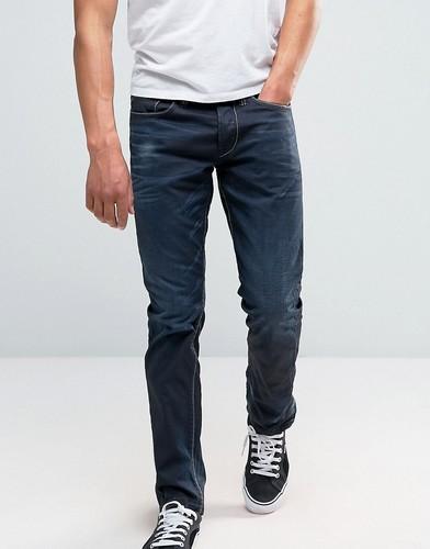Светло-серые зауженные джинсы Only & Sons - Серый