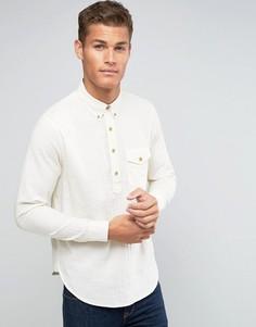 Кремовая рубашка Abercrombie & Fitch - Кремовый