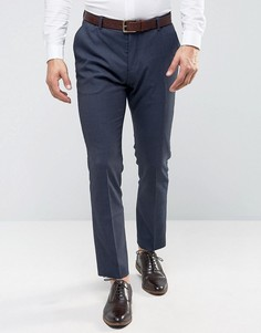 Узкие брюки под смокинг Selected Homme - Темно-синий