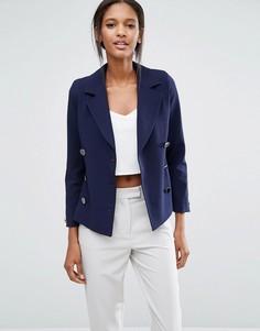 Двубортный пиджак Closet - Синий