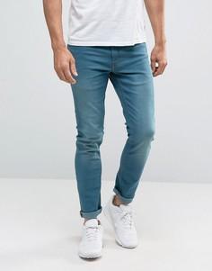 Супероблегающие джинсы Burton Menswear - Синий