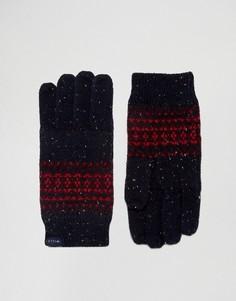 Перчатки из донегаля с традиционным узором Фэйр-Айл Jack Wills - Мульти