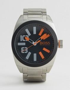 Серебристые часы-браслет BOSS Orange By Hugo Boss London 1513114 - Серебряный