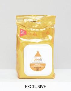 30 влажных салфеток с аргановым маслом Yes To эксклюзивно для ASOS - Бесцветный