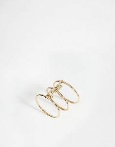 Соединенные кольца Orelia - Золотой