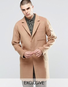 Шерстяное пальто Underated - Stone