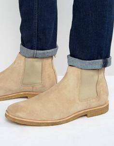 Замшевые ботинки челси Walk London Hornchurch - Stone