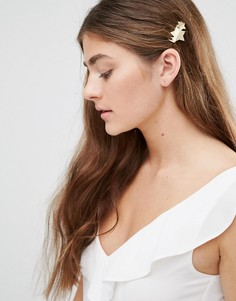Заколка для волос со звездой DesignB - Золотой