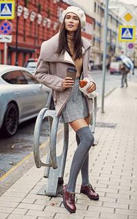 утепленная женская куртка La Reine Blanche