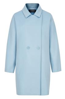Свободное пальто с отложным воротником La Reine Blanche