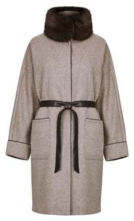 Пальто из шерсти La Reine Blanche