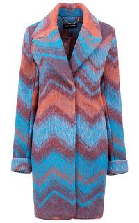 Пальто с принтом La Reine Blanche