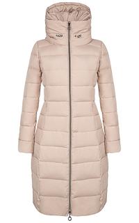 стеганое пальто на натуральном пуху La Reine Blanche