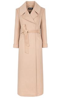 Удлиненное пальто с поясом La Reine Blanche