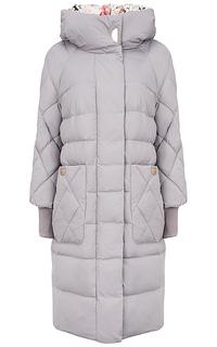 Пальто на натуральном пуху La Reine Blanche