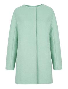Полушерстяное пальто мятного цвета Acasta