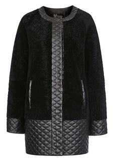 Шуба из овчины и кожи Virtuale Fur Collection