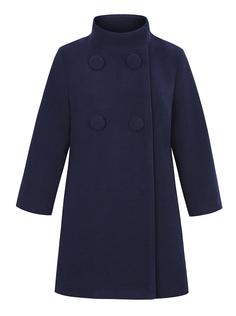 Пальто-трапеция с укороченным рукавом La Reine Blanche