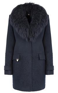 пальто с мехом ламы Acasta