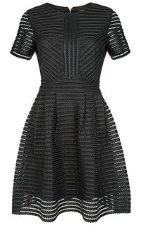 платье с перфорацией La Reine Blanche