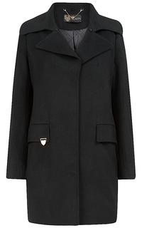 утепленное пальто с меховым воротником Acasta