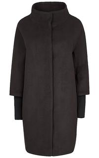 Пальто с трикотажными манжетами Compagnia Italiana