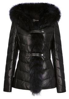 Кожаная куртка Acasta