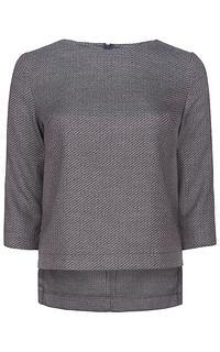 фактурная блузка La Reine Blanche