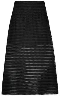 Фактурная юбка-макси La Reine Blanche