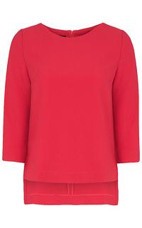 блузка с асимметричным низом La Reine Blanche