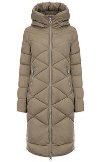 Стеганое пальто на искусственном пуху La Reine Blanche