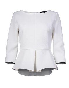 блузка с баской La Reine Blanche