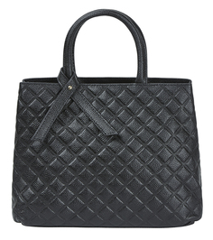 Стеганая сумка из натуральной кожи La Reine Blanche
