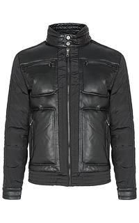 Мужская комбинированная утепленная куртка Jorg Weber