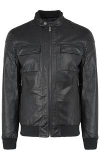 Мужская куртка из экокожи на синтепоне Urban Fashion For Men