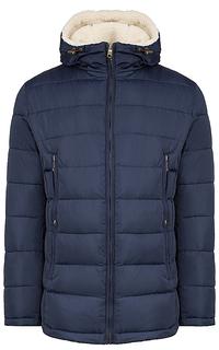 Мужская куртка с отделкой искусственным мехом Urban Fashion For Men