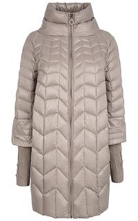 Пальто-трансформер на натуральном пуху La Reine Blanche