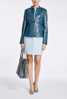 Кожаная куртка с декоративной отделкой La Reine Blanche
