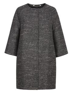 Легкое пальто oversize с рукавами 3/4 La Reine Blanche