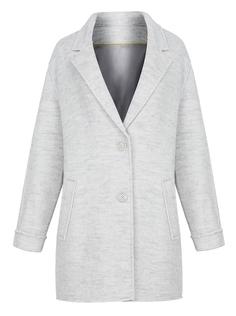 Полушерстяное укороченное пальто Neohit
