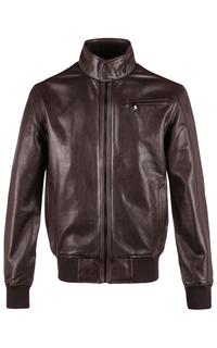 Кожаная куртка-бомбер Jorg Weber