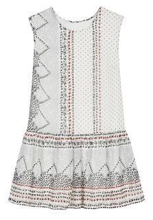 Платье с принтом La Reine Blanche