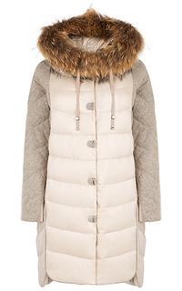 Пальто оверсайз на натуральном пуху La Reine Blanche