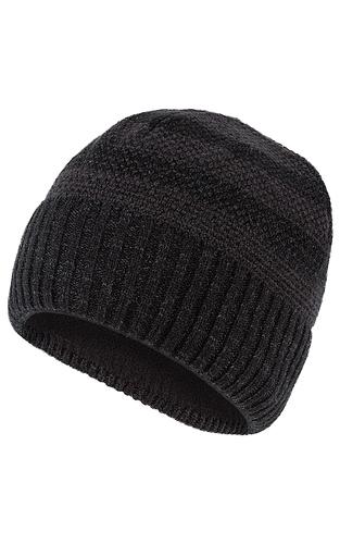 Полушерстяная шапка