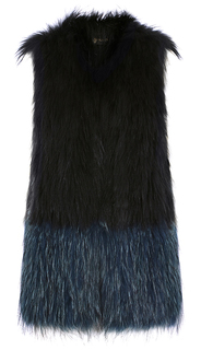 Жилет из меха енота Virtuale Fur Collection