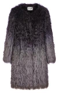 Легкая шуба из вязаного меха козлика Virtuale Fur Collection