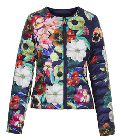 Утепленная куртка с цветочным принтом Acasta