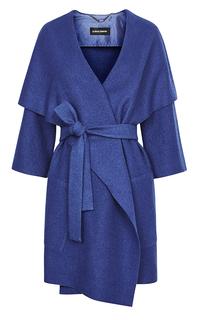 Легкое пальто-кардиган с поясом La Reine Blanche