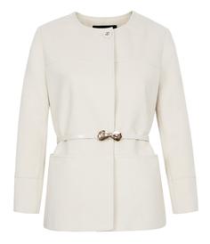 Короткое пальто с поясом La Reine Blanche
